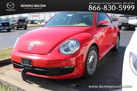 2013 Volkswagen Beetle for sale at Bening Mazda in Cape Girardeau MO