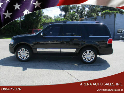 2014 Lincoln Navigator for sale at ARENA AUTO SALES,  INC. in Holly Hill FL
