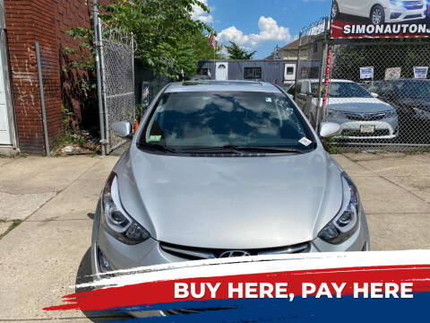 2015 Hyundai Elantra for sale at Simon Auto Group in Newark NJ