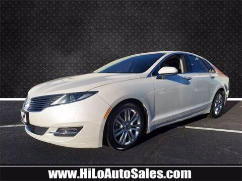 2016 Lincoln MKZ Hybrid for sale at Hi-Lo Auto Sales in Frederick MD