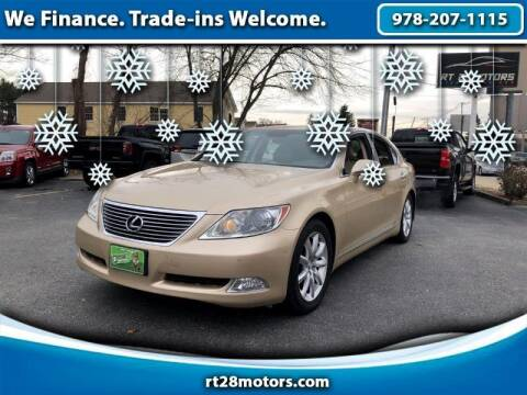 2007 Lexus LS 460 for sale at RT28 Motors in North Reading MA