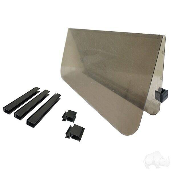 2021 Windshield, Tinted 2 Piece,  Club Car Precedent for sale at 70 East Custom Carts Atlantic Beach - parts and accessories in Atlantic Beach NC