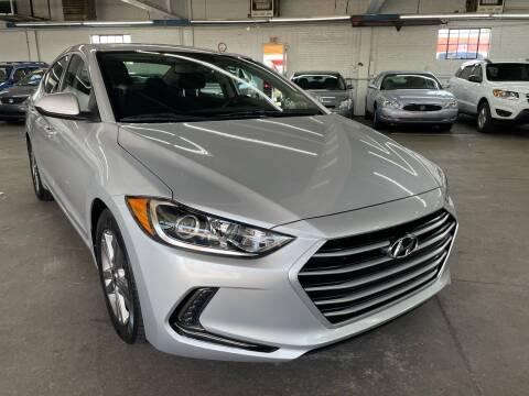 2018 Hyundai Elantra for sale at John Warne Motors in Canonsburg PA