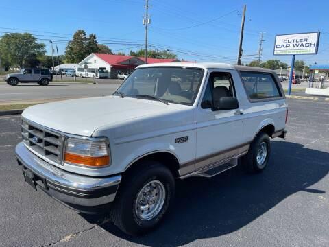 1996 Ford Bronco for sale at Niewiek Auto Sales in Grand Rapids MI