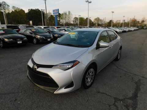 2017 Toyota Corolla for sale at Paniagua Auto Mall in Dalton GA