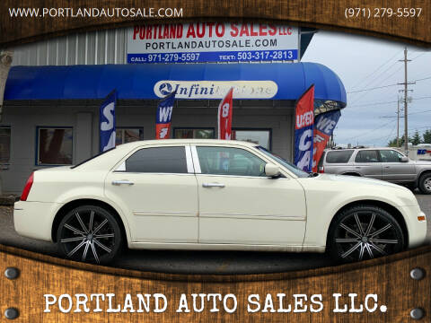2006 Chrysler 300 for sale at PORTLAND AUTO SALES LLC. in Portland OR