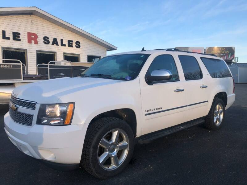 2014 Chevrolet Suburban for sale at Triple R Sales in Lake City MN