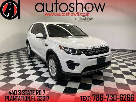 2019 Land Rover Discovery Sport for sale at AUTOSHOW SALES & SERVICE in Plantation FL