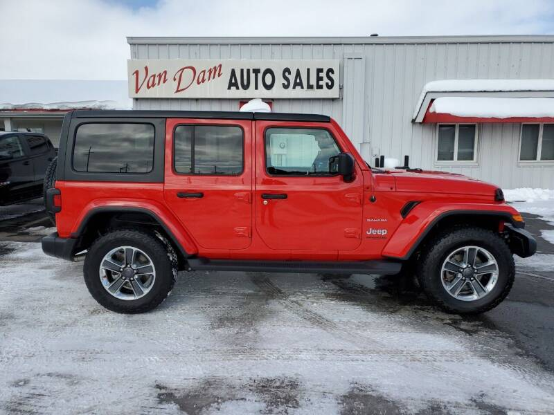 2018 Jeep Wrangler Unlimited for sale at Van Dam Auto Sales Inc. in Holland MI