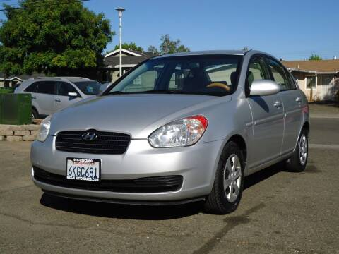 2008 Hyundai Accent for sale at Moon Auto Sales in Sacramento CA