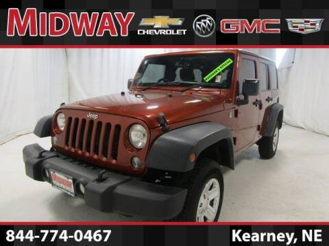 2014 Jeep Wrangler Unlimited for sale at Midway Auto Outlet in Kearney NE