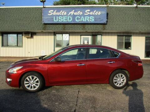2015 Nissan Altima for sale at SHULTS AUTO SALES INC. in Crystal Lake IL
