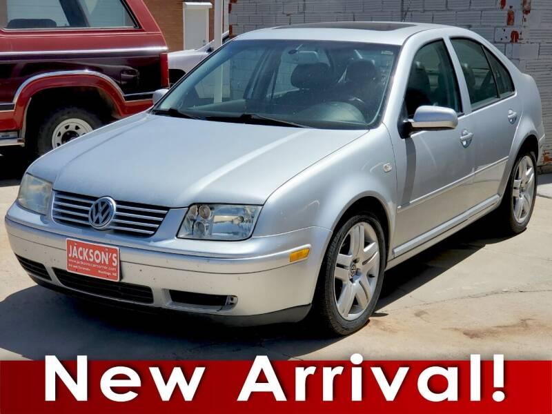 2003 Volkswagen Jetta for sale at Jacksons Car Corner Inc in Hastings NE