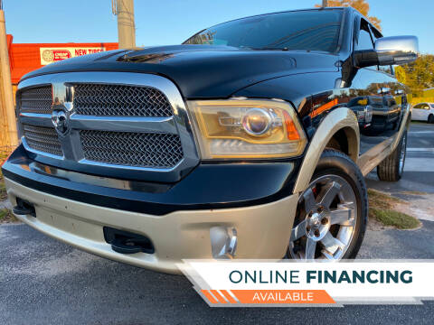 2013 RAM Ram Pickup 1500 for sale at LATINOS MOTOR OF ORLANDO in Orlando FL