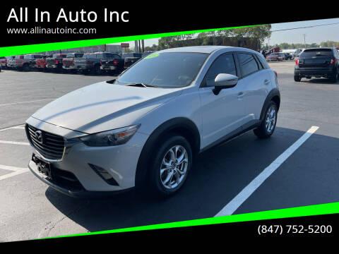 2016 Mazda CX-3 for sale at All In Auto Inc in Palatine IL