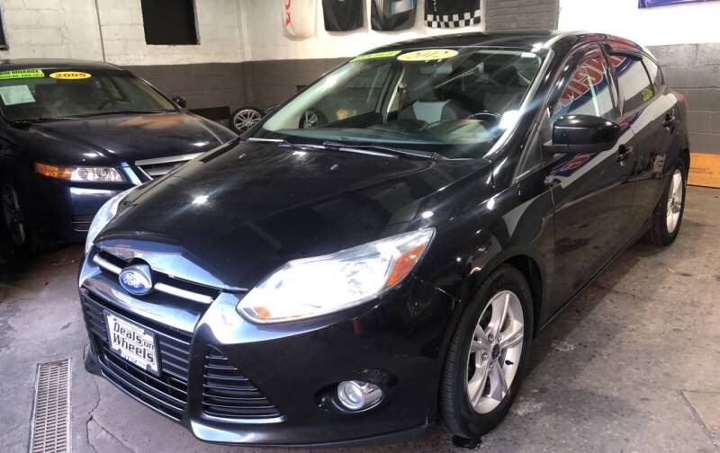 2012 Ford Focus for sale at DEALS ON WHEELS in Newark NJ