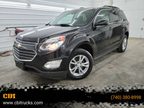 2016 Chevrolet Equinox for sale at CBI in Logan OH