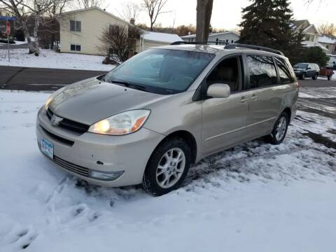 2004 Toyota Sienna for sale at Capital Fleet  & Remarketing  Auto Finance in Columbia Heights MN