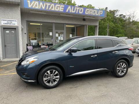 2016 Nissan Murano Hybrid for sale at Vantage Auto Group in Brick NJ
