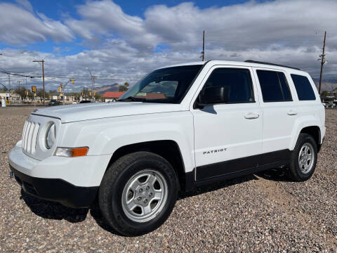 2014 Jeep Patriot for sale at Tucson Auto Sales in Tucson AZ