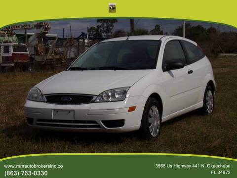 2007 Ford Focus for sale at M & M AUTO BROKERS INC in Okeechobee FL