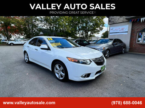 2012 Acura TSX for sale at VALLEY AUTO SALES in Methuen MA