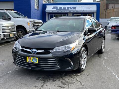 2016 Toyota Camry Hybrid for sale at AGM AUTO SALES in Malden MA