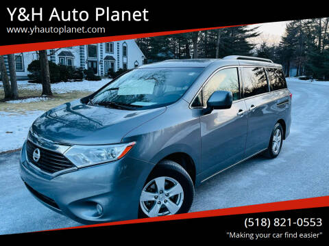 2016 Nissan Quest for sale at Y&H Auto Planet in West Sand Lake NY