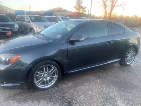 2009 Scion tC for sale at FAIR DEAL AUTO SALES INC in Houston TX