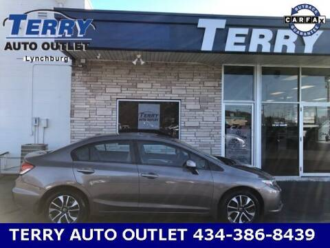2013 Honda Civic for sale at Terry Auto Outlet in Lynchburg VA