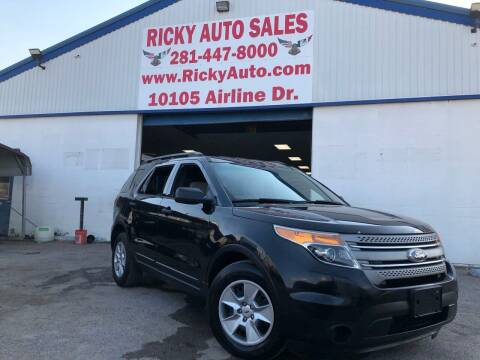 2013 Ford Explorer for sale at Ricky Auto Sales in Houston TX