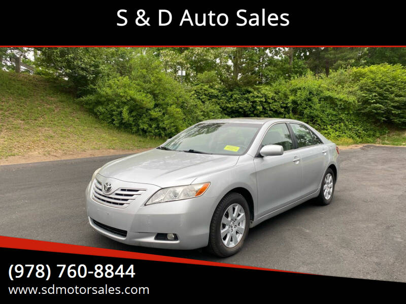 2007 Toyota Camry for sale at S & D Auto Sales in Maynard MA