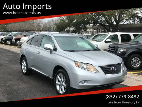 2010 Lexus RX 350 for sale at Auto Imports in Houston TX