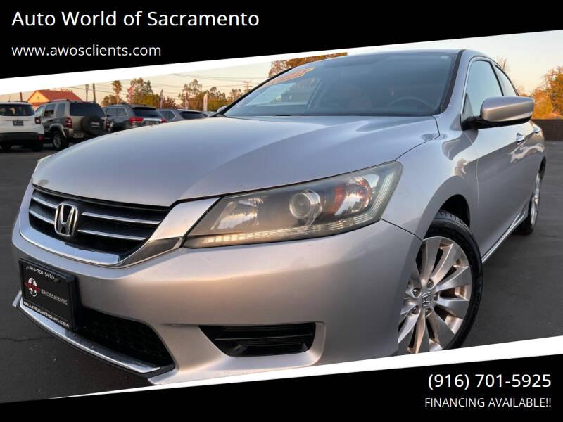 2013 Honda Accord for sale at Auto World of Sacramento Stockton Blvd in Sacramento CA