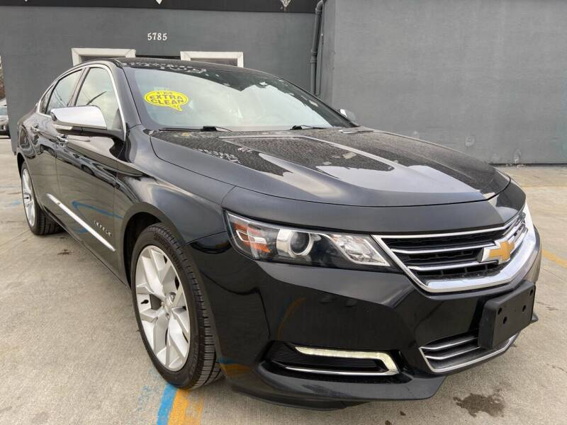 2018 Chevrolet Impala for sale at NUMBER 1 CAR COMPANY in Detroit MI