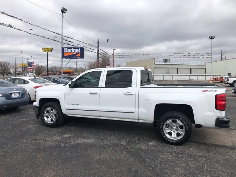 2014 Chevrolet Silverado 1500 for sale at BUDGET CAR SALES in Amarillo TX
