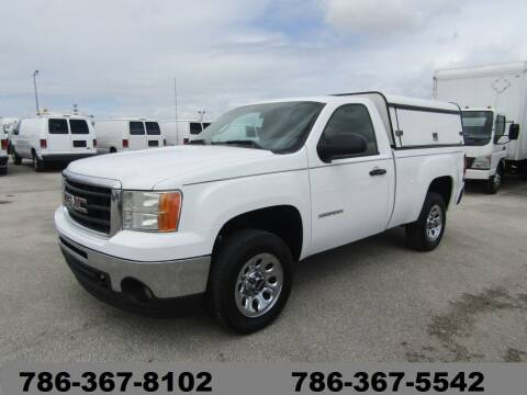 2011 GMC Sierra 1500 2dr Regular Cab for sale at AML AUTO SALES - Utility Trucks in Opa-Locka FL