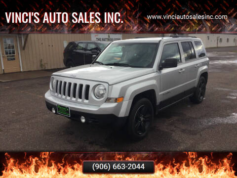 2012 Jeep Patriot for sale at Vinci's Auto Sales Inc. in Bessemer MI
