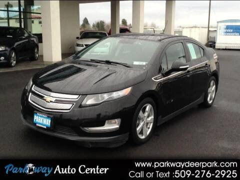 2014 Chevrolet Volt for sale at PARKWAY AUTO CENTER AND RV in Deer Park WA