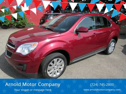 2011 Chevrolet Equinox for sale at Arnold Motor Company in Houston PA