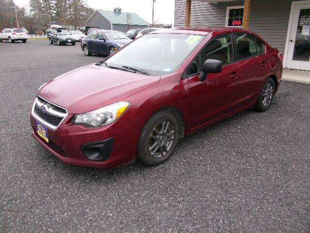 2013 Subaru Impreza for sale at Lakes Region Auto Source LLC in New Durham NH