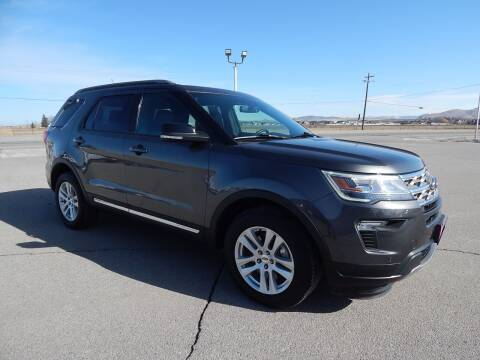 2018 Ford Explorer for sale at West Motor Company - West Motor Ford in Preston ID