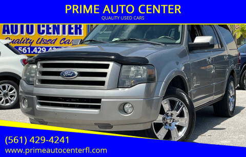 2008 Ford Expedition for sale at PRIME AUTO CENTER in Palm Springs FL