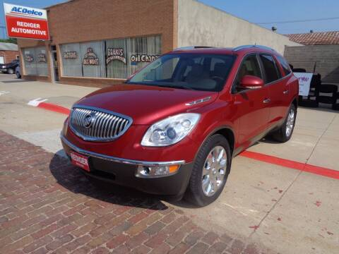 2012 Buick Enclave for sale at Rediger Automotive in Milford NE
