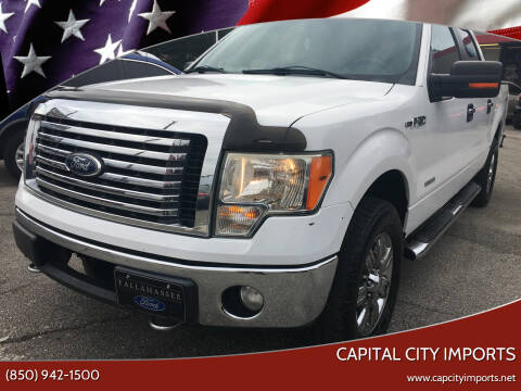 2012 Ford F-150 for sale at Capital City Imports in Tallahassee FL