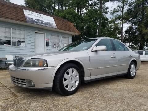 2004 Lincoln LS for sale at St. Tammany Auto Brokers in Slidell LA