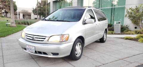 2003 Toyota Sienna for sale at Top Motors in San Jose CA