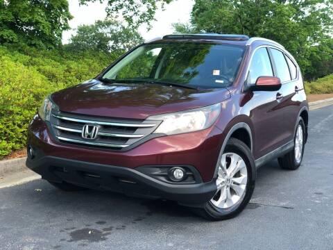 2012 Honda CR-V for sale at William D Auto Sales in Norcross GA