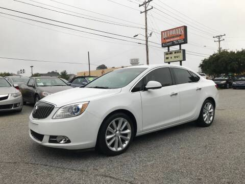 2013 Buick Verano for sale at Autohaus of Greensboro in Greensboro NC