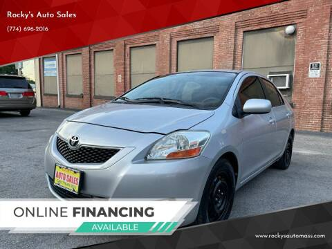 2010 Toyota Yaris for sale at Rocky's Auto Sales in Worcester MA